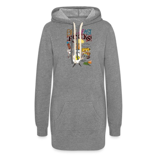 Breakfast Rocks! - Women's Hoodie Dress