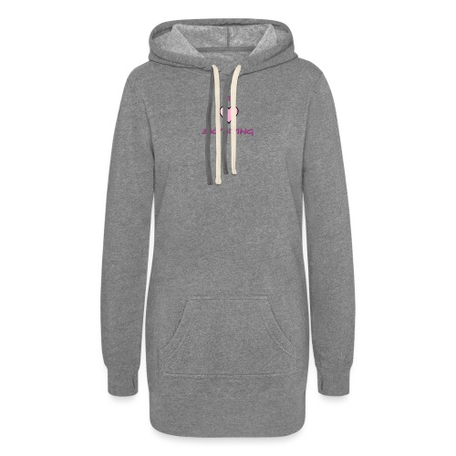 I Love Skydiving/BookSkydive/Perfect Gift - Women's Hoodie Dress