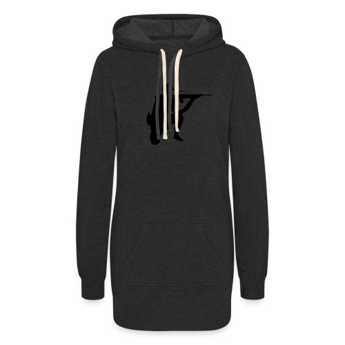 Infantry at ready for action. - Women's Hoodie Dress