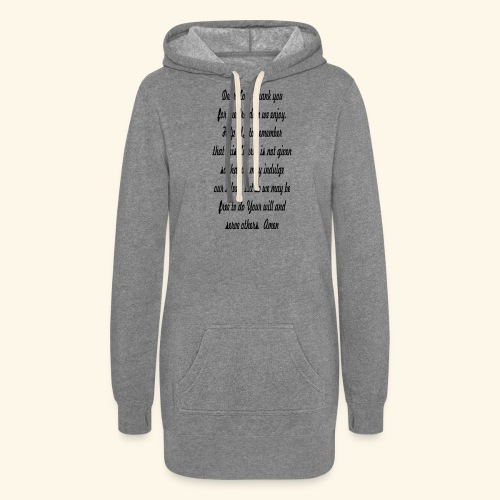 prayer_for_freedom - Women's Hoodie Dress