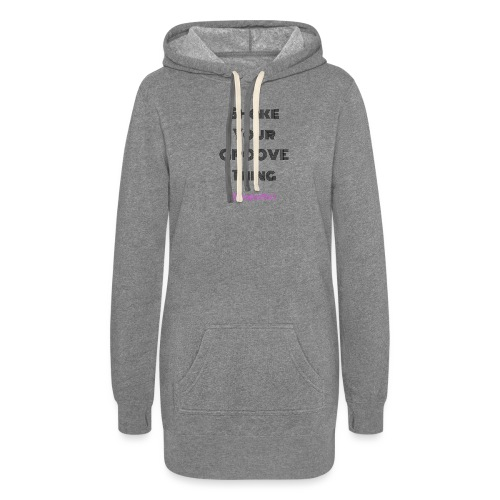 Shake your groove thing dark - Women's Hoodie Dress