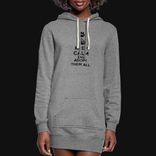 KEEP CALM - Women's Hoodie Dress
