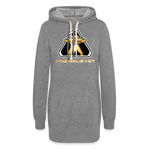 Yinz Believe? - Women's Hoodie Dress