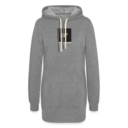 BT logo golden - Women's Hoodie Dress