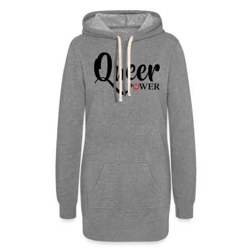 Queer Power T-Shirt 04 - Women's Hoodie Dress