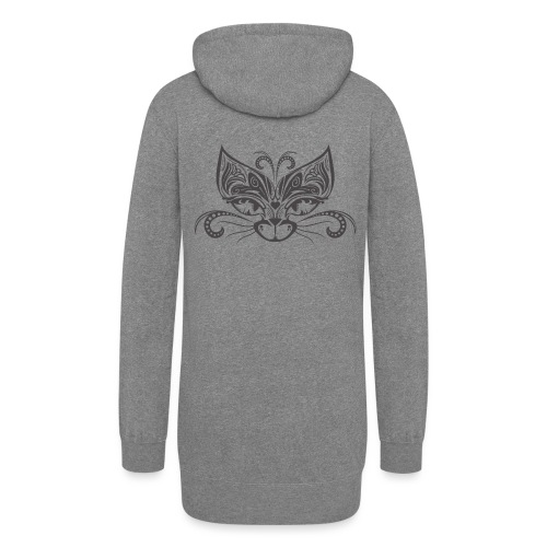 Circus Cat - Women's Hoodie Dress