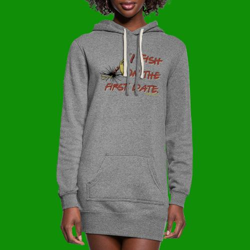 Fish on the First Date - Women's Hoodie Dress