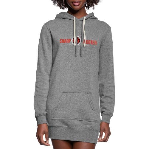 SHARP SHOOTER BRAND GREATEST OF ALL TIME - Women's Hoodie Dress
