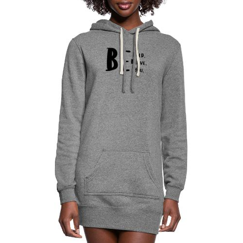 Be Bold. Be Brave. Be You. - Women's Hoodie Dress