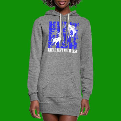 Hunt Fish - Women's Hoodie Dress