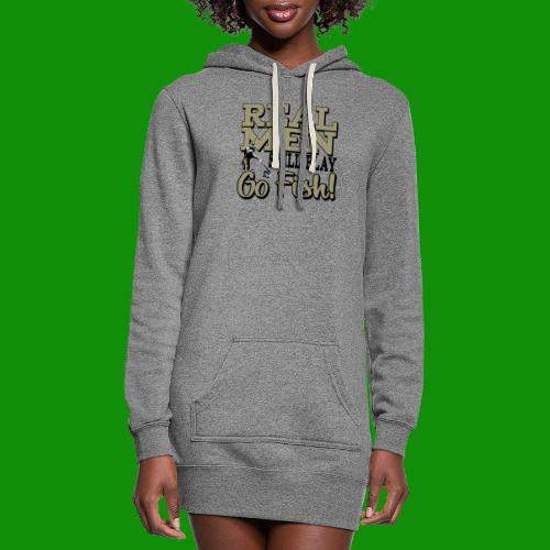 Real Men Still Play Go Fish - Women's Hoodie Dress