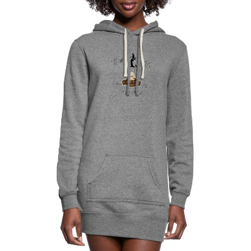 This witch needs coffee - Women's Hoodie Dress