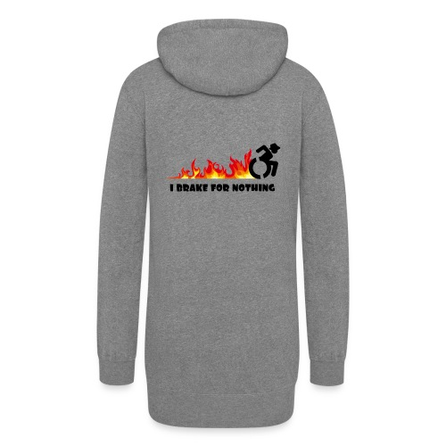 I brake for nothing with my wheelchair - Women's Hoodie Dress
