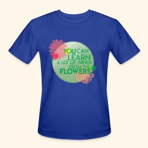 flowerandgarden - Men's Moisture Wicking Performance T-Shirt