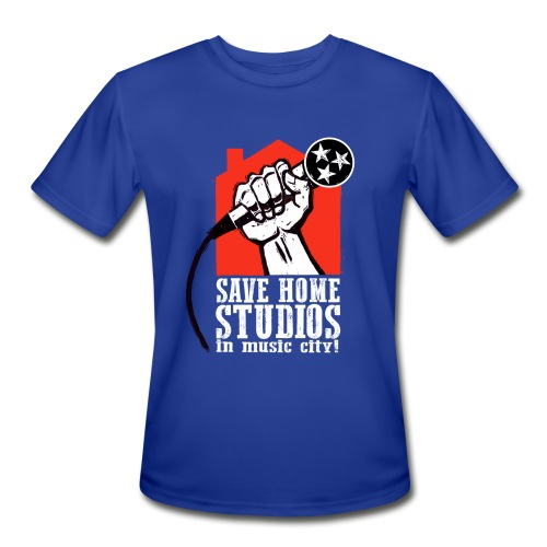 Save Home Studios In Music City - Men's Moisture Wicking Performance T-Shirt