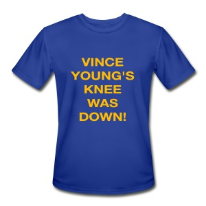 Vince Young's Knee Was Down - Men's Moisture Wicking Performance T-Shirt