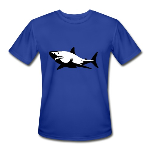 Shark - Men's Moisture Wicking Performance T-Shirt