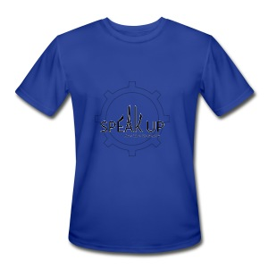 speak up logo 1 - Men's Moisture Wicking Performance T-Shirt