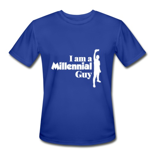 logo I Am a Millinieal Guy - Men's Moisture Wicking Performance T-Shirt