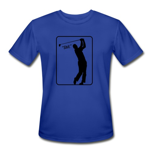 Golf Shot Shit. - Men's Moisture Wicking Performance T-Shirt