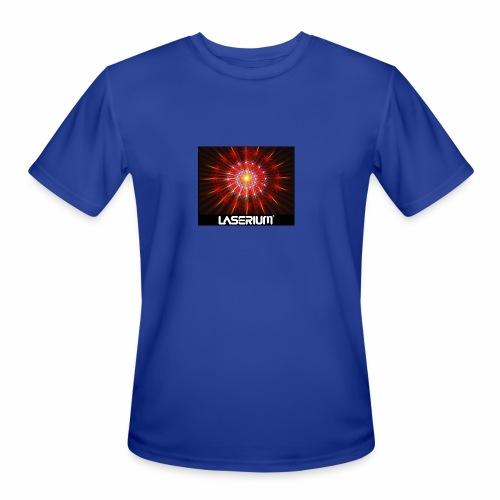 LASERIUM Laser starburst - Men's Moisture Wicking Performance T-Shirt