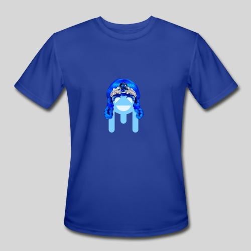 ALIENS WITH WIGS - #TeamMu - Men's Moisture Wicking Performance T-Shirt