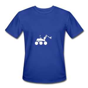 USST Rover White - Men's Moisture Wicking Performance T-Shirt