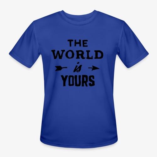 the world - Men's Moisture Wicking Performance T-Shirt