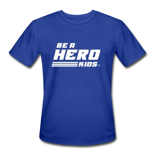 BHK secondary white TM - Men's Moisture Wicking Performance T-Shirt