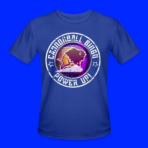 Vintage Stampede Power-Up Tee - Men's Moisture Wicking Performance T-Shirt