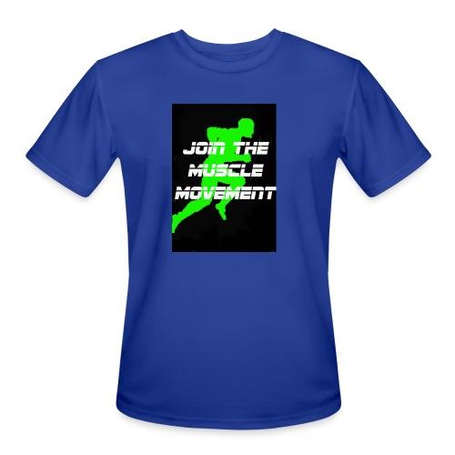 muscle movement - Men's Moisture Wicking Performance T-Shirt