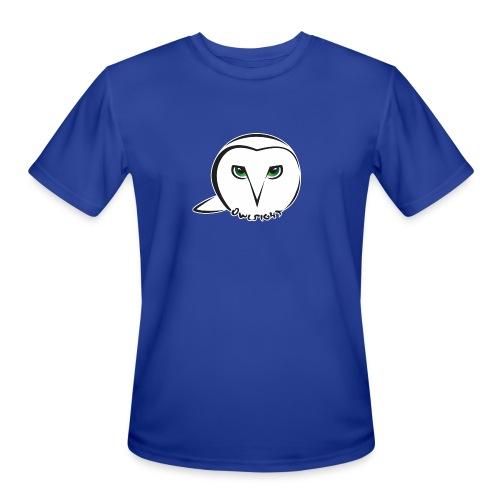 Owlsight - Men's Moisture Wicking Performance T-Shirt