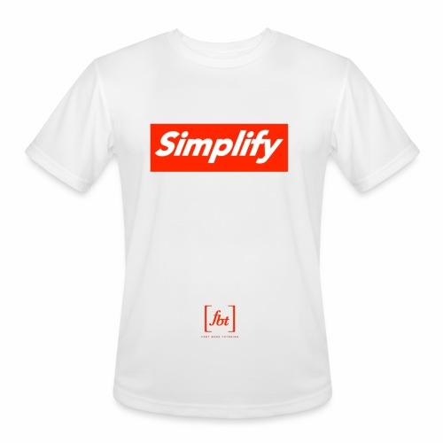 Simplify [fbt] - Men's Moisture Wicking Performance T-Shirt