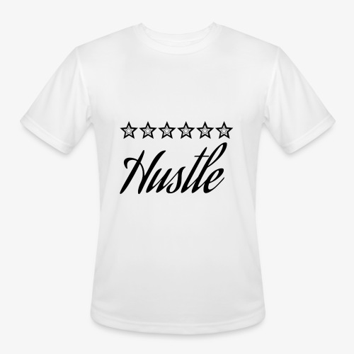 hustle with stars - Men's Moisture Wicking Performance T-Shirt
