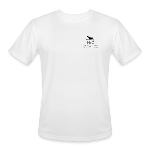 H2O Yacht Co. Black - Men's Moisture Wicking Performance T-Shirt