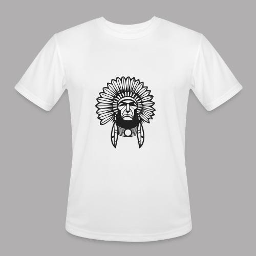 indian design (diseño de indio) - Men's Moisture Wicking Performance T-Shirt