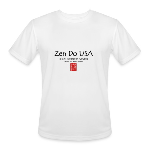 Zen Do USA - Men's Moisture Wicking Performance T-Shirt