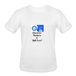 Character, Business & Skill Level - Men's Moisture Wicking Performance T-Shirt