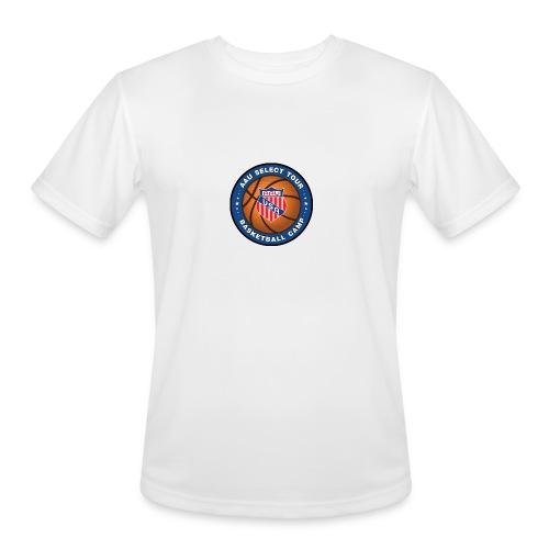 High Resolution PNG Transparent Logo medium 2 - Men's Moisture Wicking Performance T-Shirt