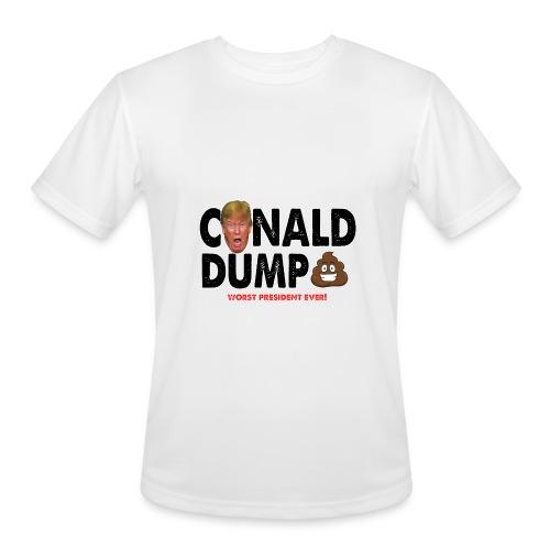 Conald Dump Worst President Ever - Men's Moisture Wicking Performance T-Shirt