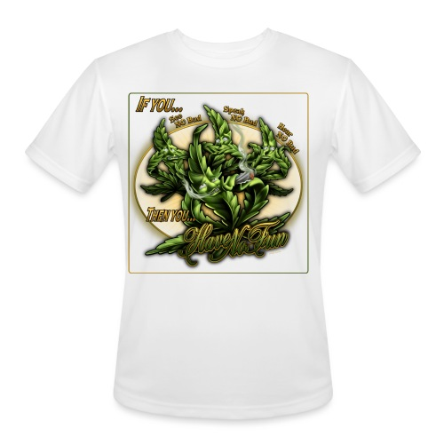See No Bud by RollinLow - Men's Moisture Wicking Performance T-Shirt