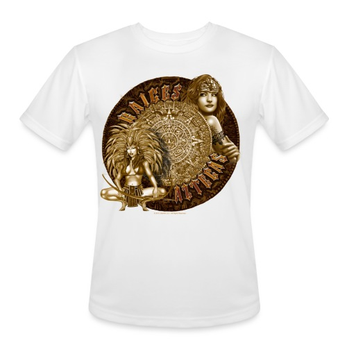 Raices Aztecas by RollinLow - Men's Moisture Wicking Performance T-Shirt