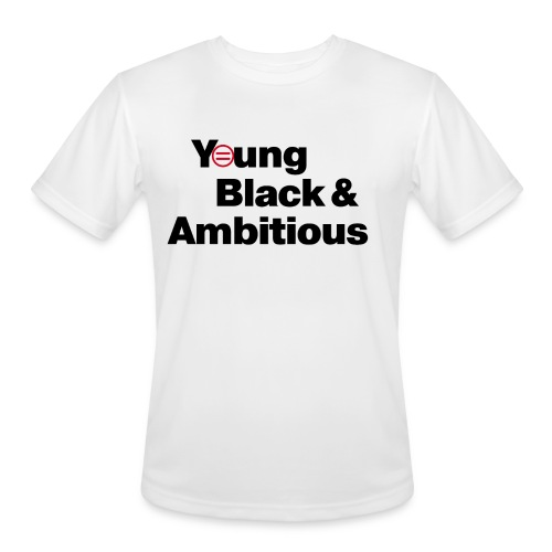 YBA white and gray shirt - Men's Moisture Wicking Performance T-Shirt