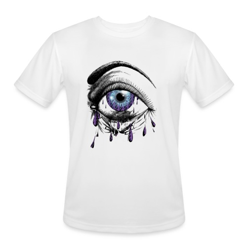 Lightning Tears - Men's Moisture Wicking Performance T-Shirt