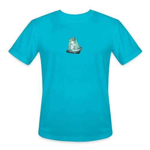 Summrrz Logo Transparent - Men's Moisture Wicking Performance T-Shirt
