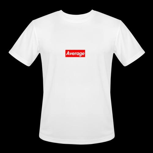 Average Supreme Logo Mockup - Men's Moisture Wicking Performance T-Shirt