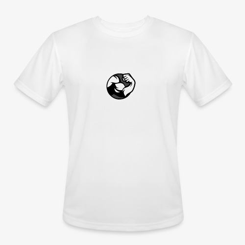 Black and Grey Performance - Men's Moisture Wicking Performance T-Shirt