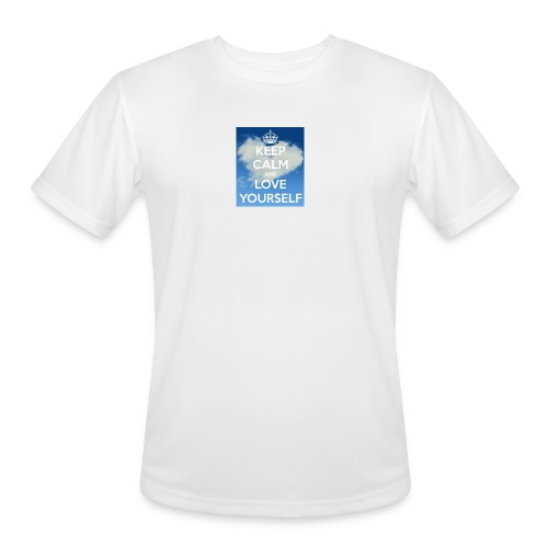 Keep calm and love yourself - Men's Moisture Wicking Performance T-Shirt
