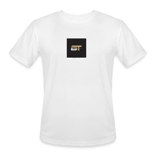 BT logo golden - Men's Moisture Wicking Performance T-Shirt