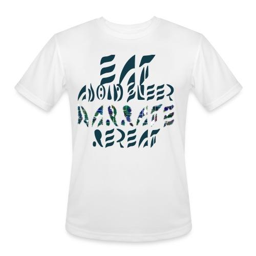 Eat Sleep Narrate Repeat - Men's Moisture Wicking Performance T-Shirt